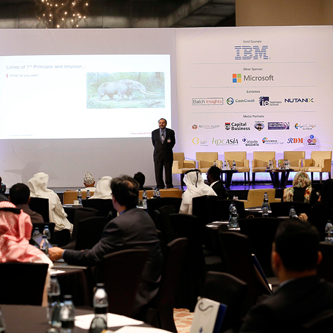 The GCC big data & analytics summit 2015